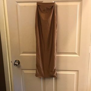 Dresses & Skirts - Bronze bandage midi skirt